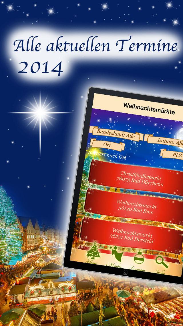 Weihnachtsmärkte 2014 - Weihnachtsmarkt-Suche: Advent + Weihnachten screenshot 5