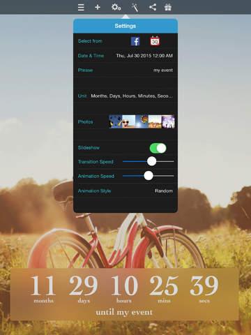 Big Day (with Facebook Event & Calendar) Countdown screenshot 10