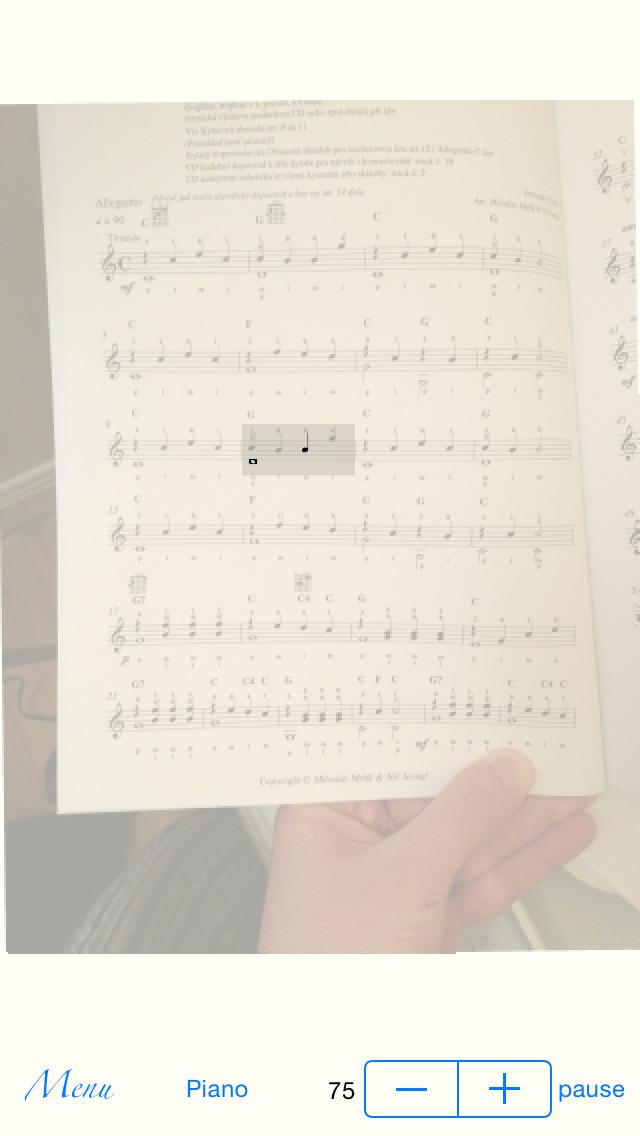 Sheet Music Scanner screenshot 3