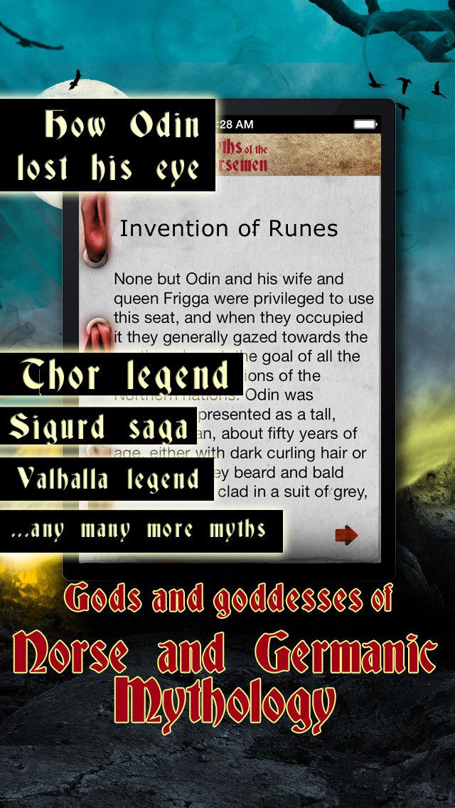 Myths of the Norsemen - Viking Mythology, Sagas & The Edda screenshot 3