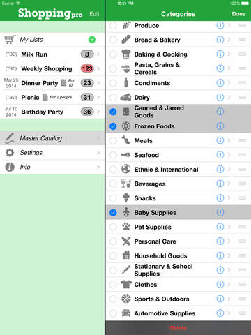 Shopping Pro (Grocery List) screenshot 7