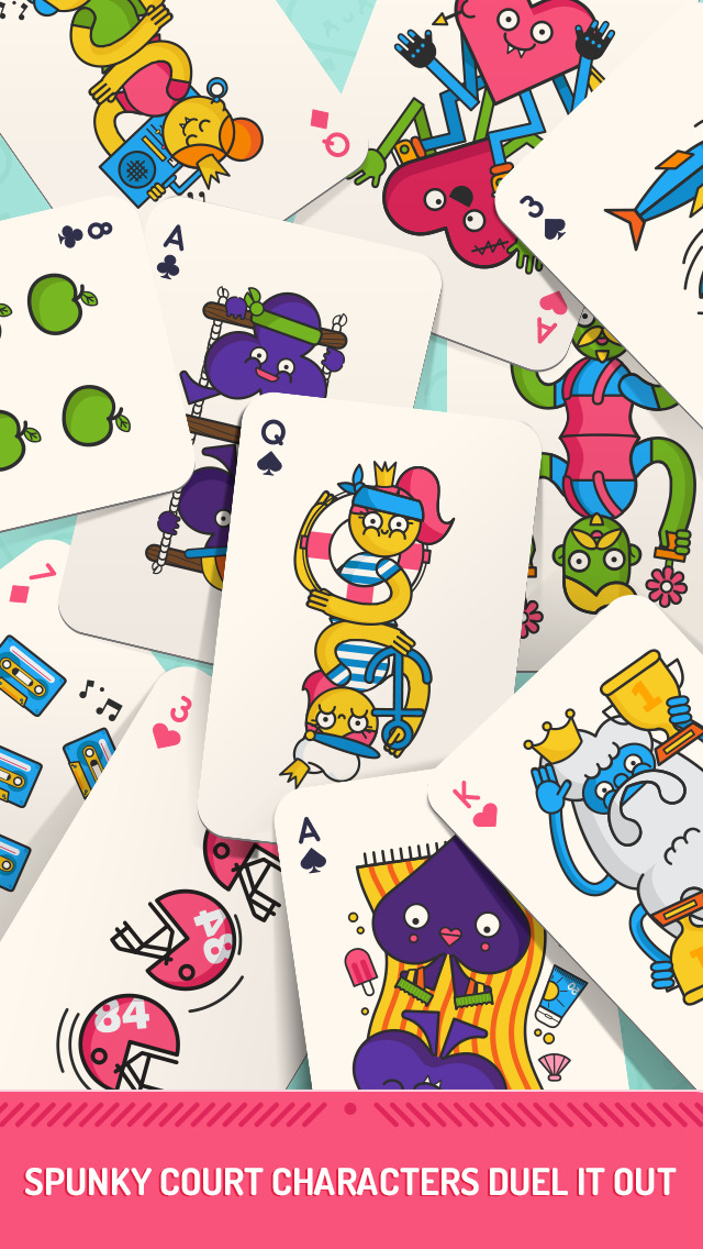 Duckie Deck Card Wars screenshot 3