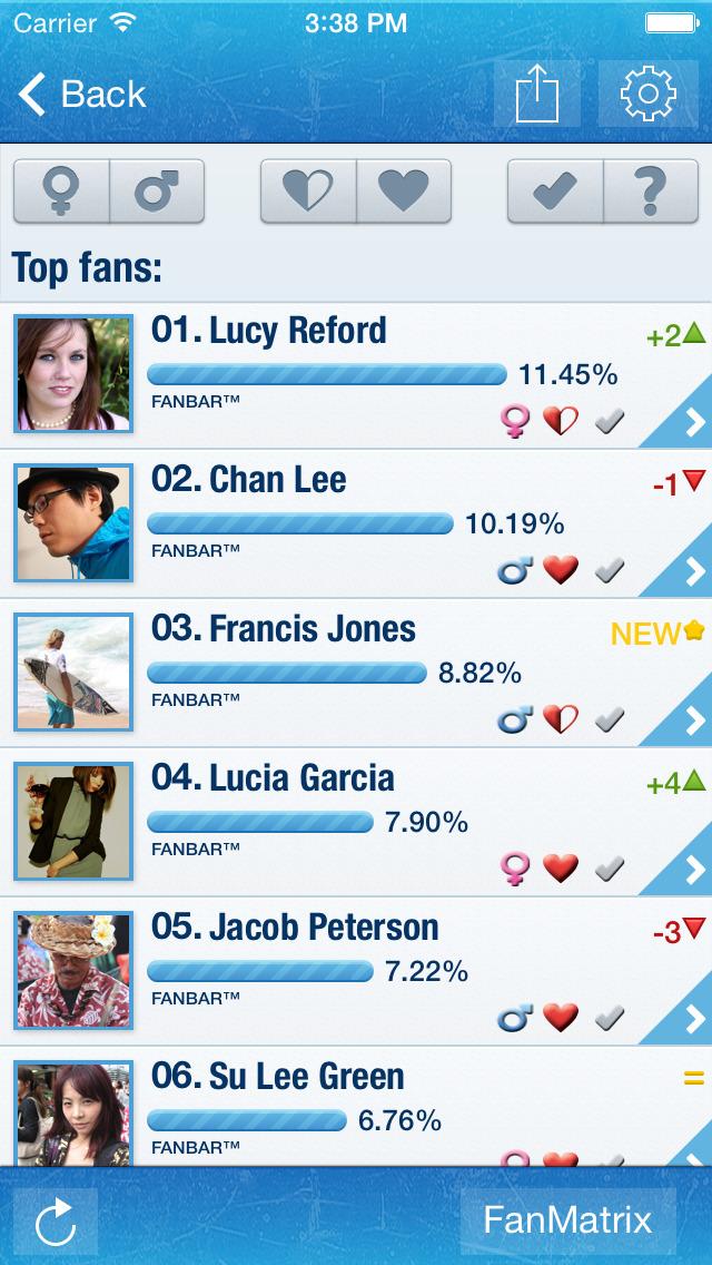 MyTopFans Pro for IG screenshot #3