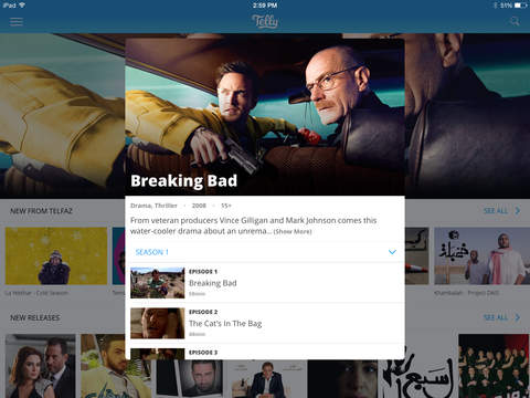 Telly - Watch TV & Movies screenshot 10
