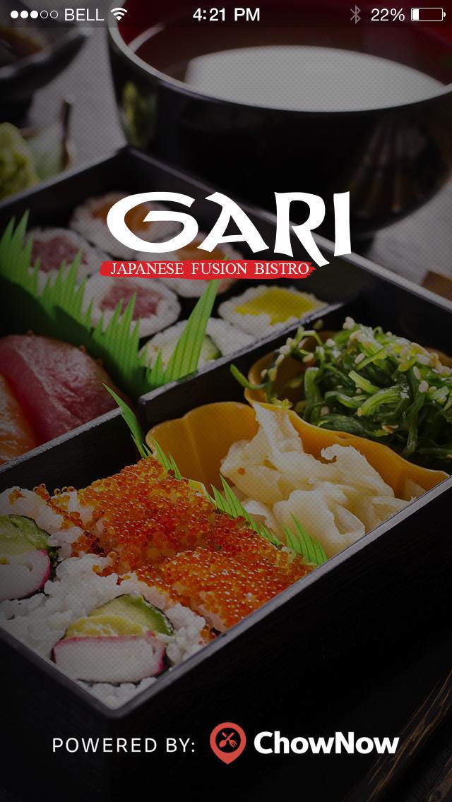 Gari Japanese Restaurant screenshot 1