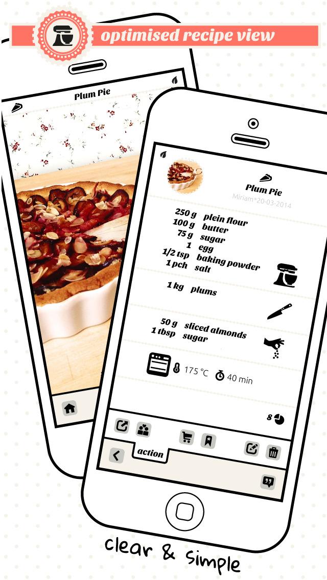flavourit - my cookbook screenshot 2