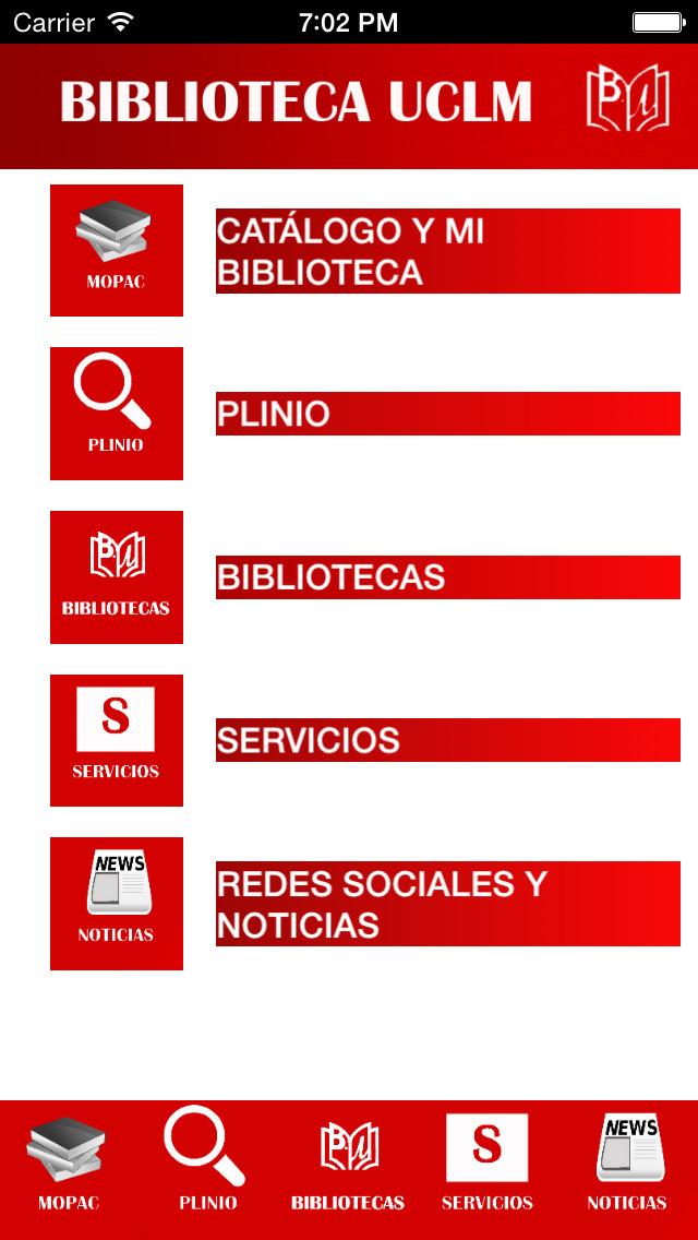 Biblioteca UCLM Universidad de Castilla La Mancha screenshot 5