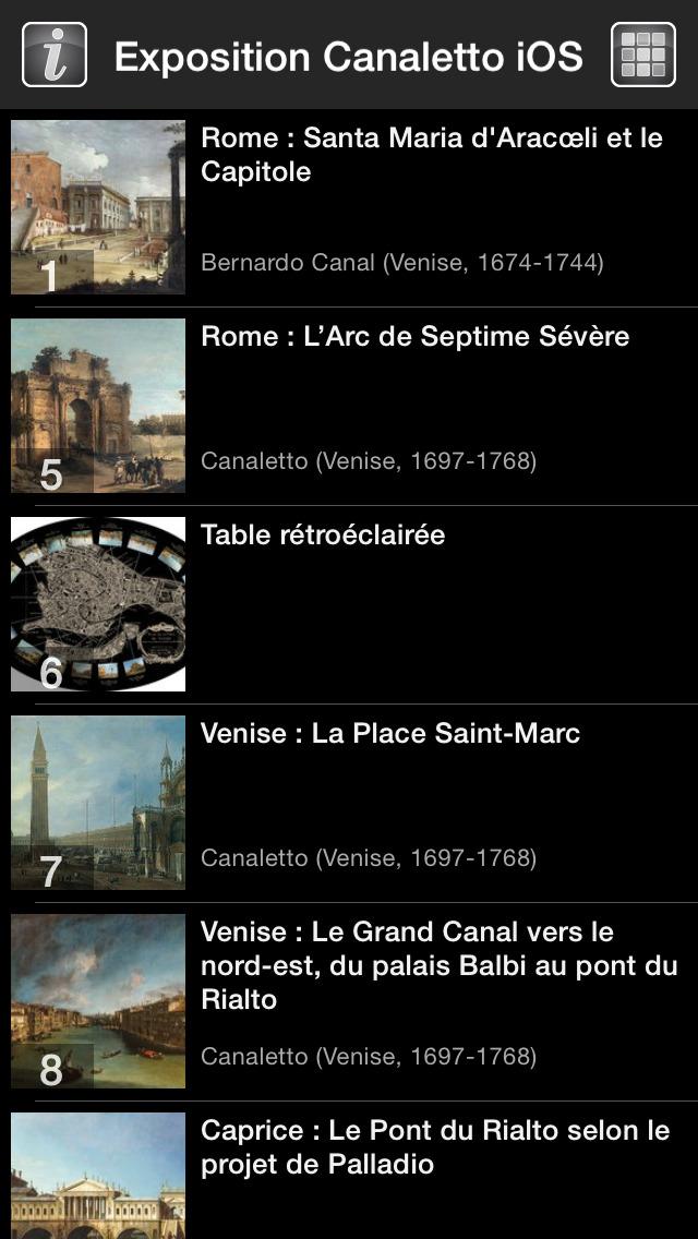 CANALETTO, Rome – Londres – Venise. Le triomphe de la lumière screenshot 3
