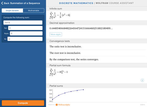 Wolfram Discrete Mathematics Course Assistant screenshot 8