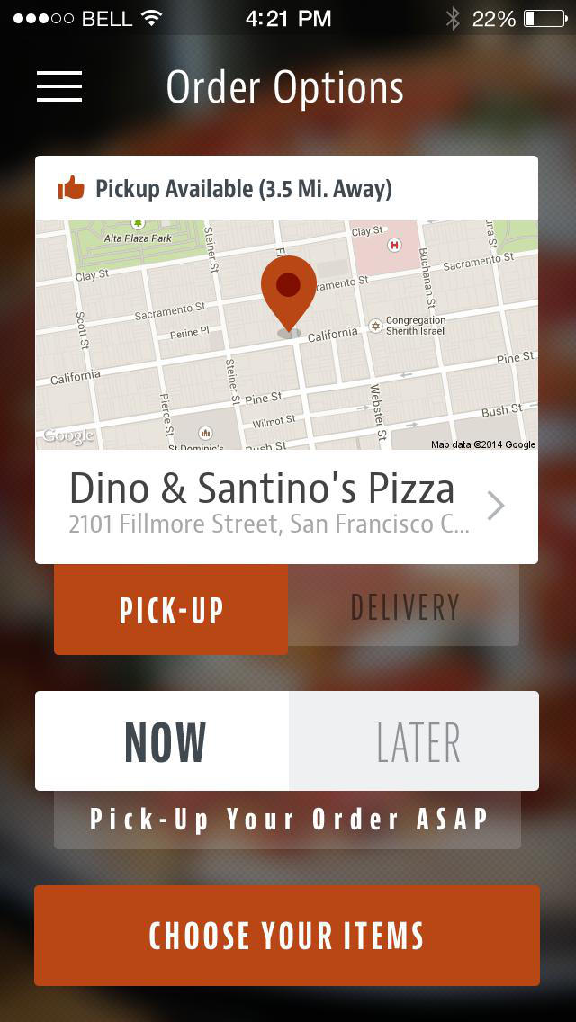 Dino & Santino's Pizza screenshot 2