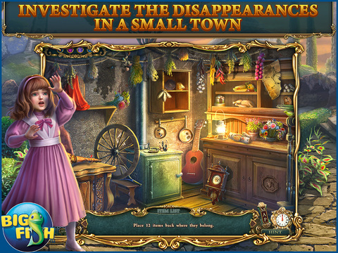 Haunted Legends: The Stone Guest HD - A Hidden Objects Detective Game screenshot 2