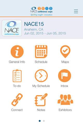 NACE15 Conference & Expo - náhled