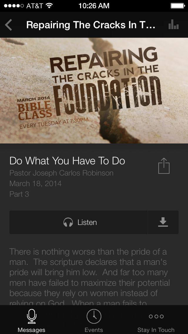 Resurrection Church of LA screenshot 3