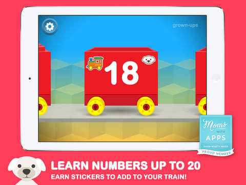 Number Train Early Learning: School Edition - Kindergarten maths games for Grade 1, KS1, writing, addition, 123, count screenshot 6
