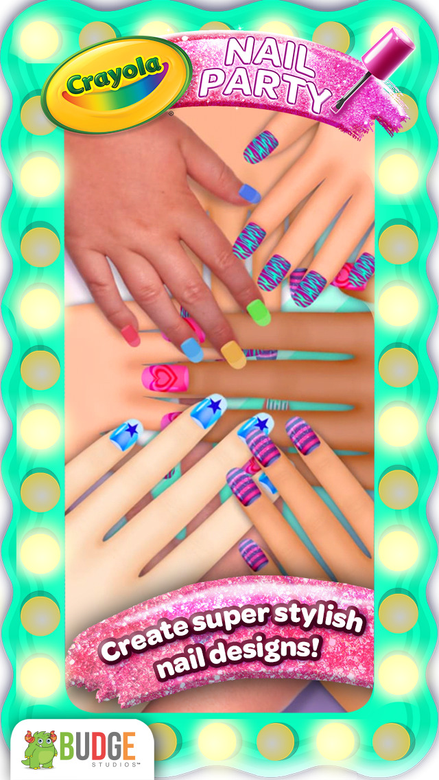 Crayola Nail Party – A Nail Salon Experience screenshot 1