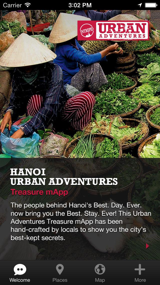Hanoi Urban Adventures - Travel Guide Treasure mApp screenshot 1