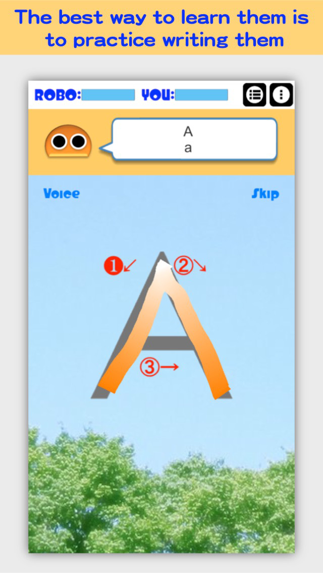 Writing Order FREE Alphabet screenshot 2