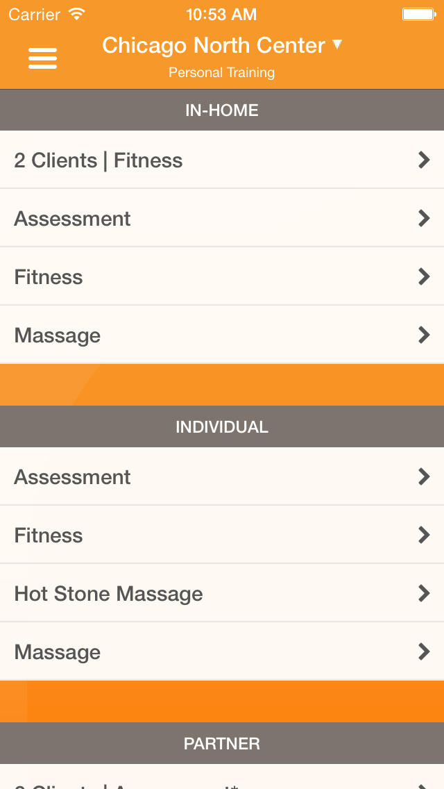 Orange Shoe Personal Fitness screenshot #3