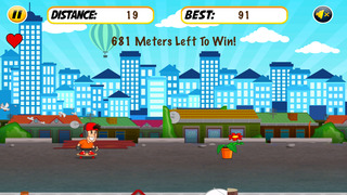 Skyline Dash Run - Skaters vs Obstacles screenshot 1