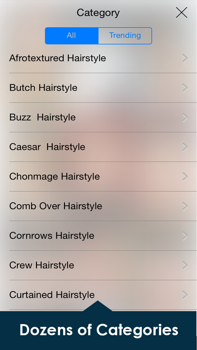 Men's HairStyles Catalog: Long & Short Beard Style screenshot 3