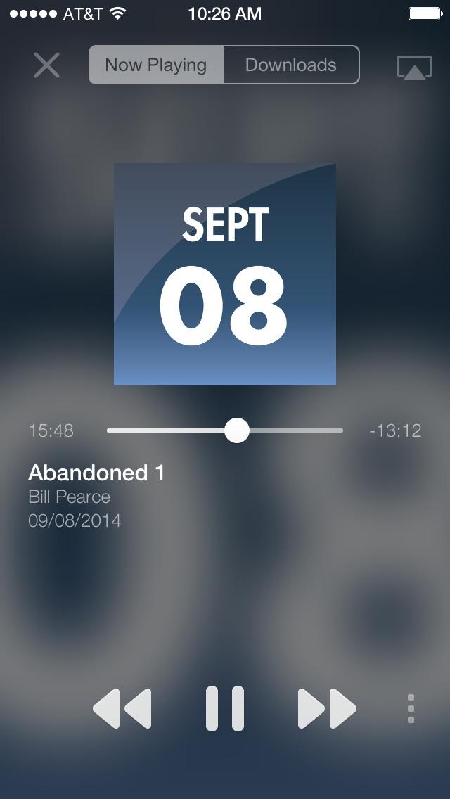 Nightsounds screenshot 2