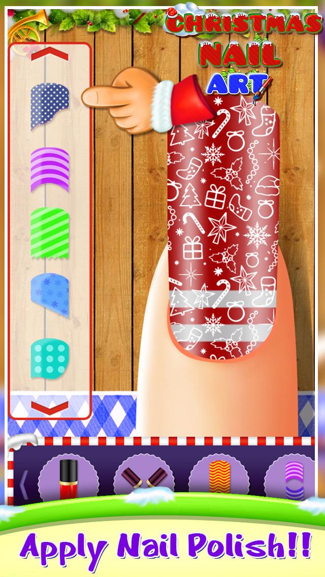 Christmas Nail Art screenshot 2