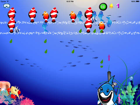 Swing Shark Pro : Shooting Game Of Fishes Battle screenshot 8