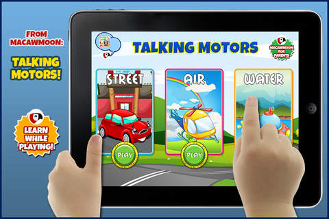 First Word Motors: Alphabet letters abc - Macaw Mo - náhled
