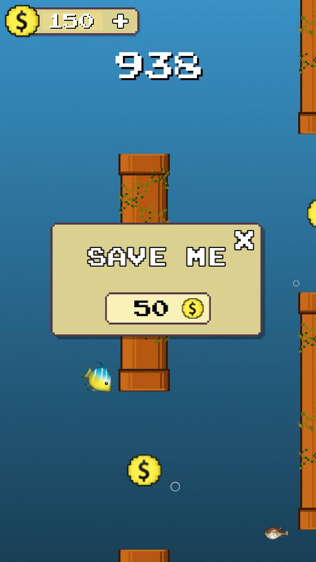 Dive Fish Hero : Go Deep screenshot 3