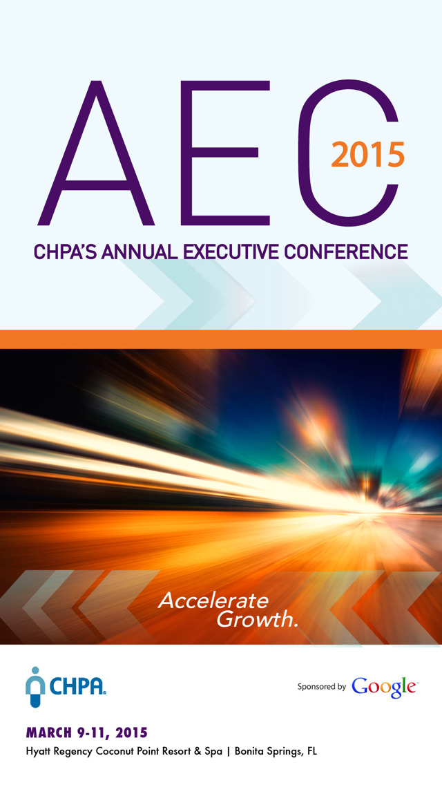 CHPA AEC 2015 screenshot 1