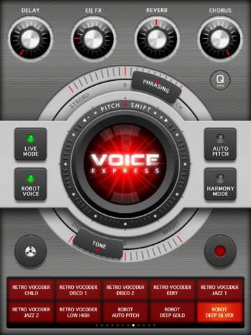 Voice Changer Pro X screenshot 5