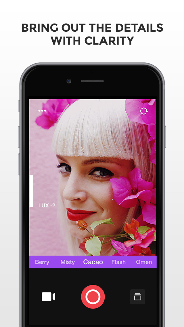 Camu - Camera for simply perfect pictures screenshot 2