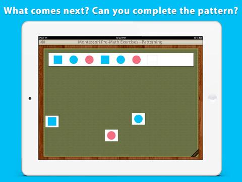 Patterning - A Montessori Pre-Math Exercise screenshot 3