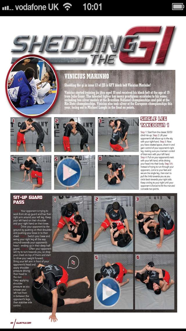 Jiu Jitsu Style Magazine – World's No.1 BJJ Mag screenshot 3
