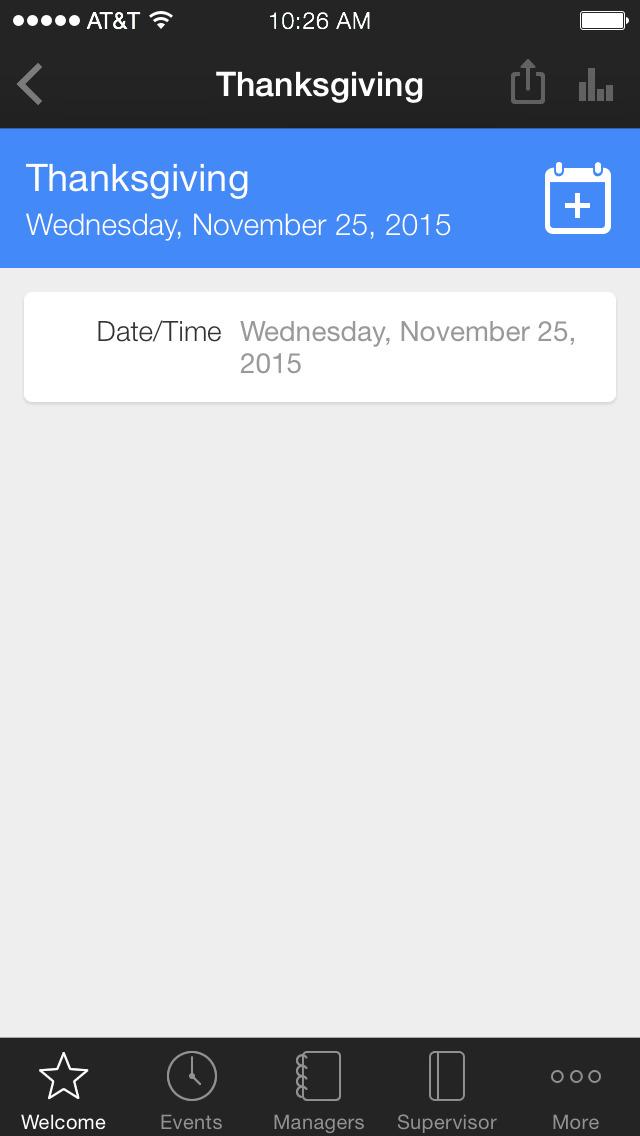 Costa Ent Employee App screenshot 3