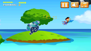 A1 Pirate Jumping Diamond Chase screenshot 3
