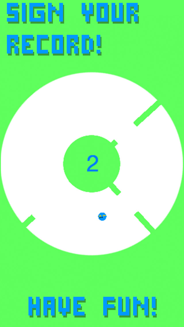 Rotating Flappy FREE screenshot 4