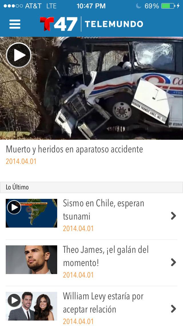 Telemundo 47 screenshot 2