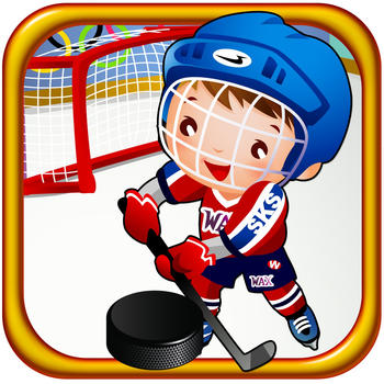Ice Hockey Winter Snow Touch: Shoot At Big Goal Keeper HD, Free Kids Game