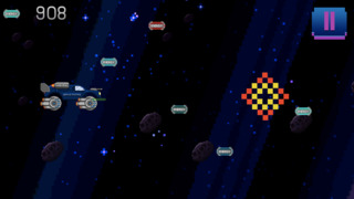 Retro Shooting Monster Truck In Space Racing Game screenshot 2