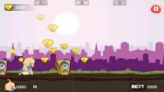 Baby Run - Free screenshot 4