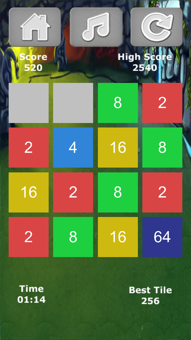 2048e screenshot 2