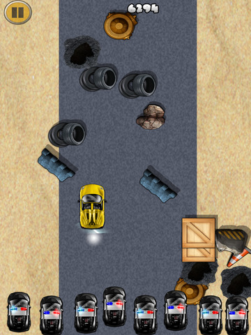 ``Action of Offroad Car Racing: Police Chase Driving Free screenshot 6