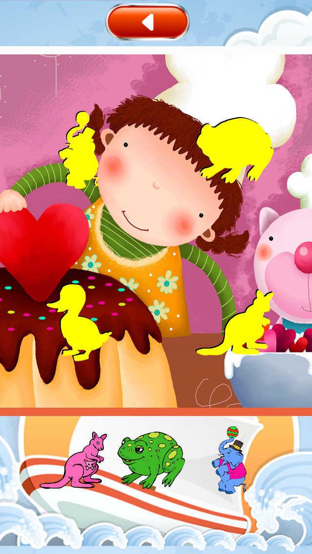 学前幼儿玩贴纸 screenshot 3