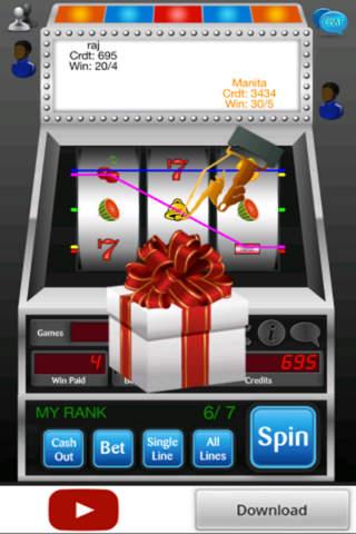 Social Slot Machine - náhled