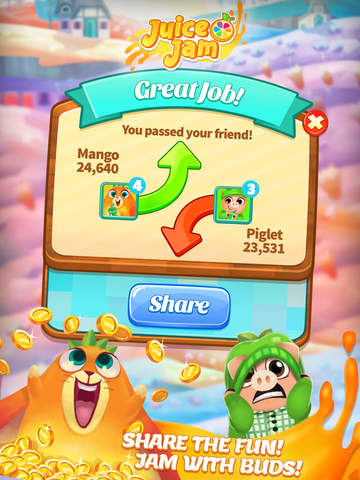 Juice Jam! Match 3 Puzzle Game screenshot 10