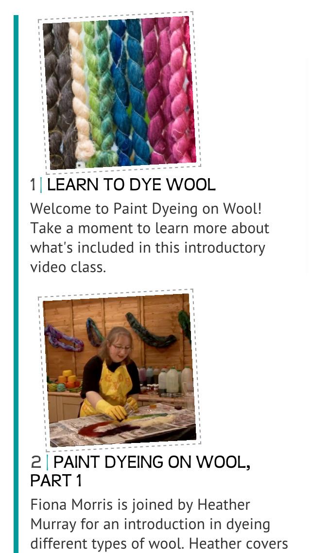 Paint Dyeing on Wool screenshot 2