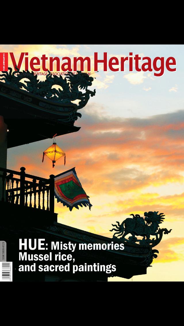 Vietnam Heritage Magazine screenshot 1