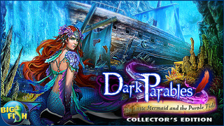 Dark Parables: The Little Mermaid and the Purple Tide - A Magical Hidden Objects Game (Full) screenshot 5