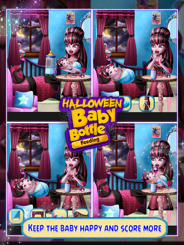 Halloween Baby Bottle Feeding screenshot 4